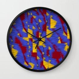 pattern funk colortheme 1 Wall Clock