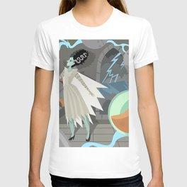 undead bride on secret laboratory T-shirt