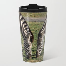 2 Zebras Travel Mug