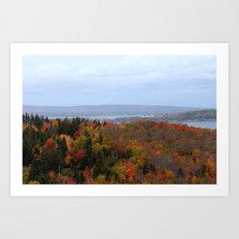 Fall Colors Ingo Art Print