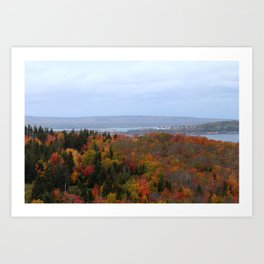 Fall Colors Ingo Art Print
