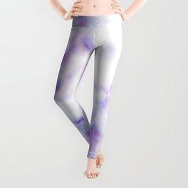 Pattern of purple marble Leggings