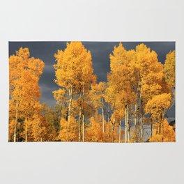 Perfect Golden Autumn Rug
