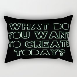 What Do You Want to Create Today? Part 3 Rectangular Pillow