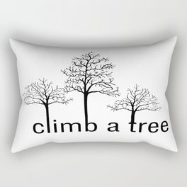Climb A Tree Rectangular Pillow
