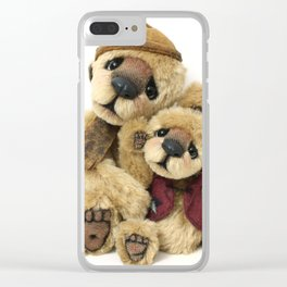 Theodore & Barnabe Clear iPhone Case