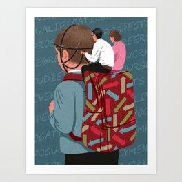 Parental control Art Print