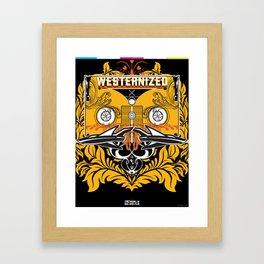 WESTERNIZED Dali Framed Art Print