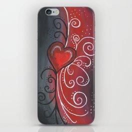 Rays of Love iPhone Skin