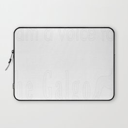 i am voice for the galgo Laptop Sleeve