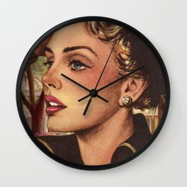 Louisiana Plantation Home Wall Clock