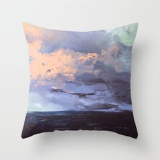 Sail Through the Storm Throw Pillow