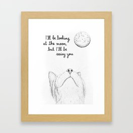 I'll Be Seeing You Framed Art Print