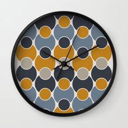 Geo-sphere - Geometric Circles Pattern Wall Clock
