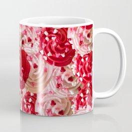 Tickle Me Pick Cream of Hearts Coffee Mug