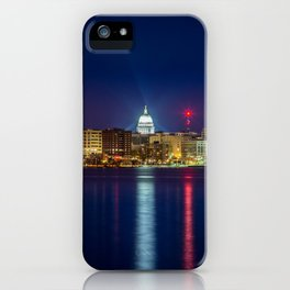 Madison at Night iPhone Case
