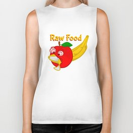 Raw Foods Food Fight Biker Tank