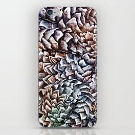Artichokes and Pangolins Muted iPhone Skin