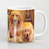 mom Mugs featuring Mom by Robin Curtiss