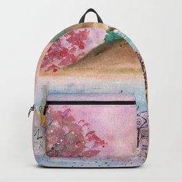 Watercolor Refuge Landscape Backpack