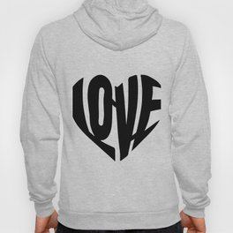 LOVE heart Hoody