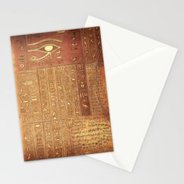 Ancient Script Stationery Cards
