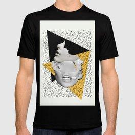 collage art / Faces T-shirt