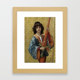 Alexandre Cabanel - A Page 1881 Framed Art Print