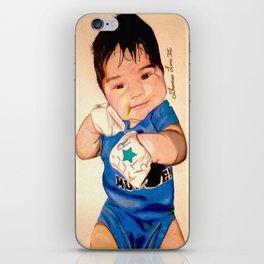 Baby Portrait iPhone Skin