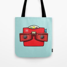 #42 Viewmaster Tote Bag