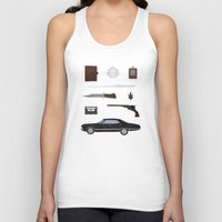 supernatural Tank Tops featuring Supernatural v2 by avoid peril