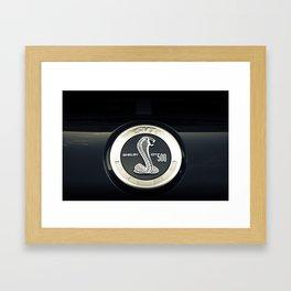 Shelby GT 500 Framed Art Print