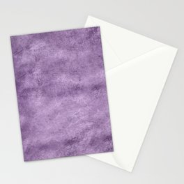 Violet wall Stationery Cards