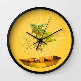 PILSNER TREE Wall Clock