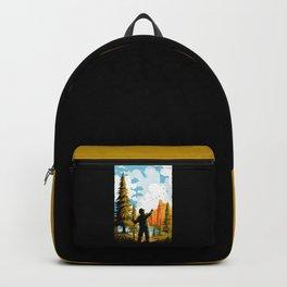National Park Traditional Design Backpack