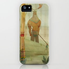 Mundos perdidos iPhone Case
