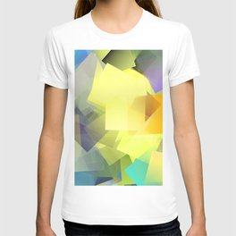Cubism Abstract 201 T-shirt