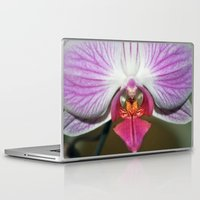 orchid Laptop & iPad Skins featuring Orchid  by Sammycrafts
