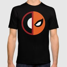 Wilson VS Wilson (Deadpool Deathstroke) Mens Fitted Tee MEDIUM Black