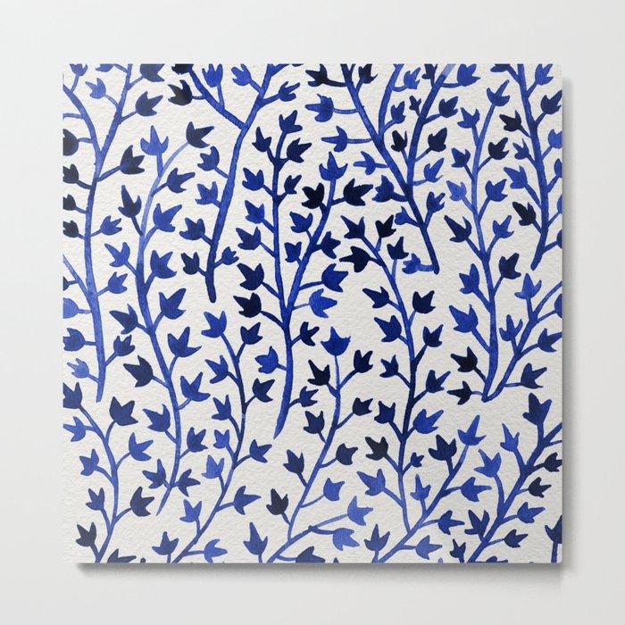 Porcelain Ivy Metal Print