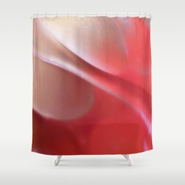 Pink in Abstract Shower Curtain
