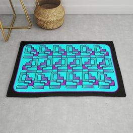 Modern Zuni Contemporary Artwork Rug