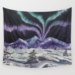 Aurora the Fabulous - Dancing lights Wall Tapestry