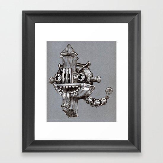 thingy Framed Art Print