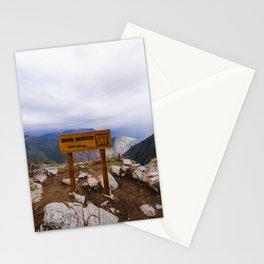 Machu Picchu 006 Stationery Cards