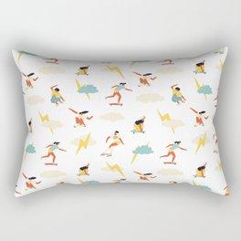 You go, girl pattern! Rectangular Pillow