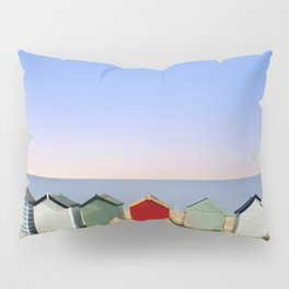 Beach Huts at Southwold (Suffolk/Great Britain) Pillow Sham