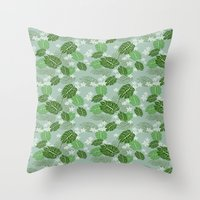 hawaiian Throw Pillows featuring Hawaiian by Holy Spoof