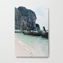 Railay Longtails Metal Print