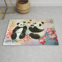 butterfly sensations Rug